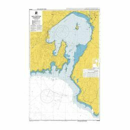 NZ4633 Wellington Harbour Admiralty Chart