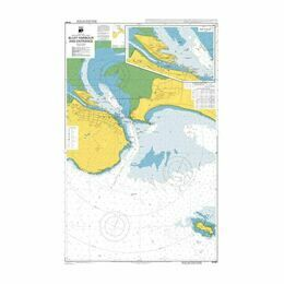 NZ6821 Bluff Harbour and Entrance Admiralty Chart