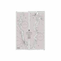 1982 Rio Parana Rosario to Parana Admiralty Chart