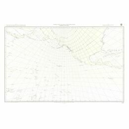 5097 North Pacific Ocean Gnomonic Admiralty Chart