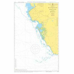 5114 Appr. to Rio Guadalquivier & Bahia de Cadiz Admiralty Chart