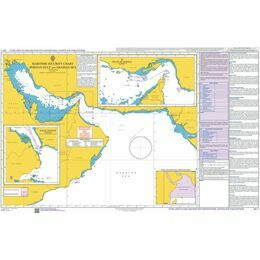 Q6111 Maritime Admiralty Security Chart, Persian Gulf and Arabian Sea