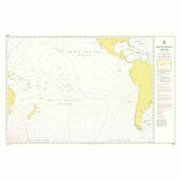 Admiralty 5399 Magnetic Variation, 2005 & Annual rates of Change - South Pacific Ocean