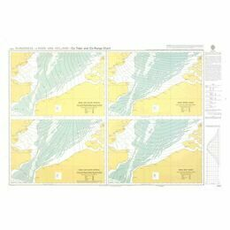 5057 Co-tidal and Co-range Chart - Dungeness to Hoek van Holland Admiralty Chart