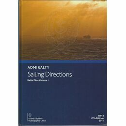 Admiralty Sailing Directions NP18 Baltic Pilot Vol.1