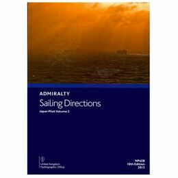 Admiralty Sailing Directions NP42B Japan Pilot Vol.3