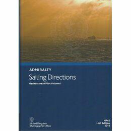 Admiralty Sailing Directions NP45 Mediterranean Pilot Vol. 1