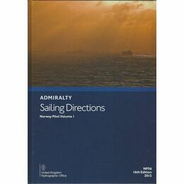 Admiralty Sailing Directions NP56 Norway Pilot Vol.1