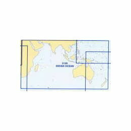 5126 (2) Febraury - Indian Ocean Admiralty Chart