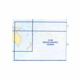 5128 (8) August - South Pacific Admiralty Chart