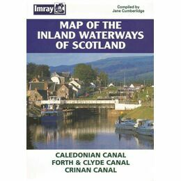 Imray Map of the Inland Waterway's of Scotland