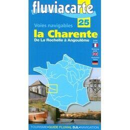 Imray Fluviacarte No. 25. La Charente Guide