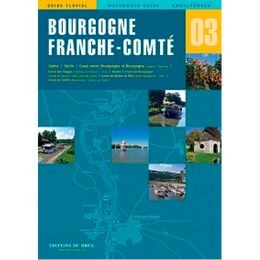 Imray Editions Du Breil No.3 Borgogne Waterway Guide
