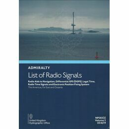 NP282 Admiralty List of Radio Signals. Vol. 2.