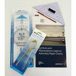 Marine Navigation Chart Plotting Kit (4)
