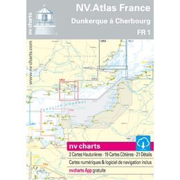 FR1 - Oostende to Cherbourg Chart Atlas
