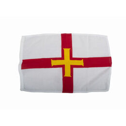 Meridian Zero Guernsey Courtesy Flag