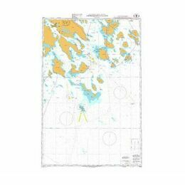 1009 Approaches to Lulea Admiralty Chart