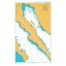 1017 Golfo de California Admiralty Chart