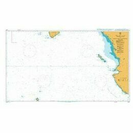 1027 Approaches to Golfo De California Admiralty Chart