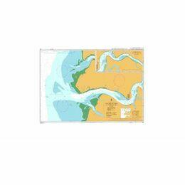 161 Batang Rajang and Approaches Admiralty Chart