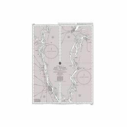 1982B Rio Parana Rosario to Parana Admiralty Chart