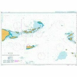 2016 Puerto Rico to Leeward Islands Admiralty Chart