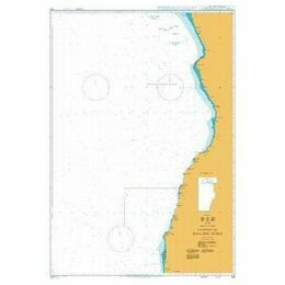 312 Luanda to Baia dos Tigres Admiralty Chart