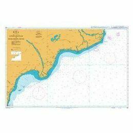 318 Ramayapatnam to Sacramento Shoal Admiralty Chart