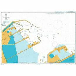 3781 Ra's Laffan Port Admiralty Chart