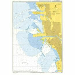 3932 Manila Harbour Admiralty Chart