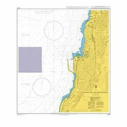 4227 Rada de Antofagasta Admiralty Chart