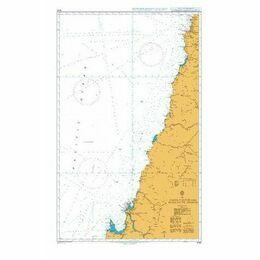4240 Bahia Valparaiso to Golfo de Arauco Admiralty Chart