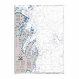 4733 Cape Race to/ A Cape Freels Admiralty Chart
