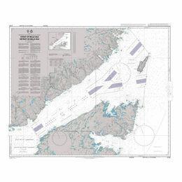 4735 Strait of Belle Isle Detroit de Belle Isle Admiralty Chart