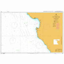 4913 Cape San Martin to Santa Cruz Admiralty Chart
