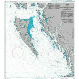 4921 Queen Charlotte Sound to/A Dixon Entrance Admiralty Chart