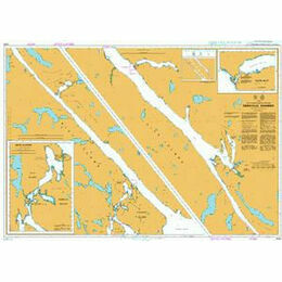4932 British Columbia/Colombie-Britannique Grenville Channel Admiralty Chart