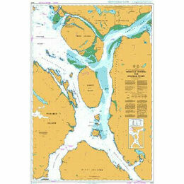 4940 Grenville Channel to/A Chatham Sound Admiralty Chart