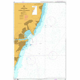 599 Approaches to Vitoria and Tubarao Admiralty Chart