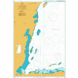 662 Isla de Guanaja to Isla Cozumel including the Gulf of Honduras Admiralty Chart