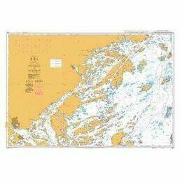 887 Furusund to Osterskar Admiralty Chart