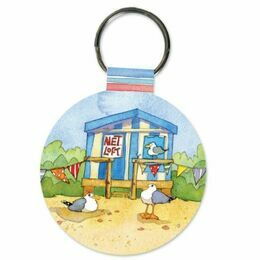 Emma Ball Keyring - Seaside