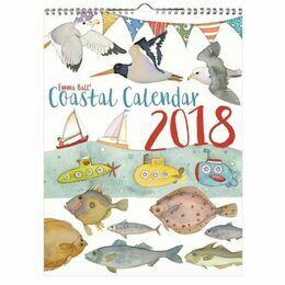 Emma Ball Coastal Calendar 2018