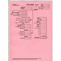 Laminated Sight Reduction Forms - Polaris