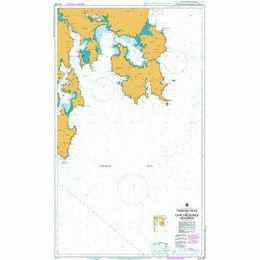 AUS796 Tasman Head to Cape Frederick Hendrick Admiralty Chart