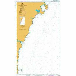AUS807 Montague Island to Jervis Bay Admiralty Chart