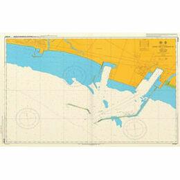JP1033B Eastern Part of Tomakomai Ko Admiralty Chart