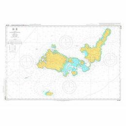 JP1206 Yaeyama Retto Admiralty Chart