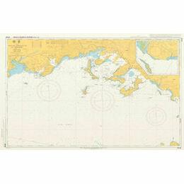 JP126 Tokuyama - Kudamatsu Ko and Approaches Admiralty Chart